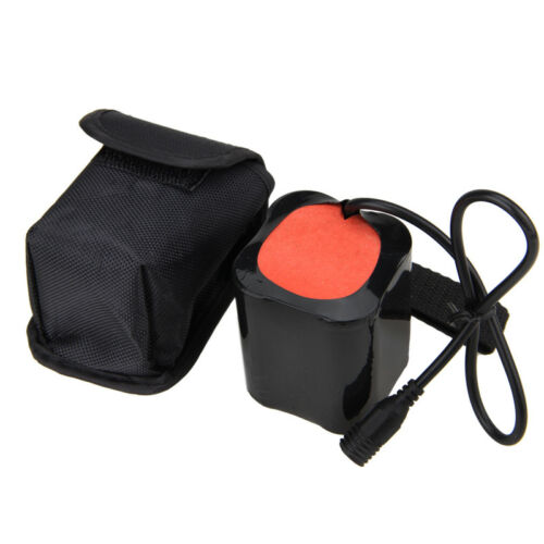 8.4V 18650 26650 Battery Pack USB Rechargeable 12000mAh For Bike Bicycle Light