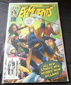 Soft-Cover-Comic-Book-Ex-Mutants-1-1992-Malibu-Comics-VF