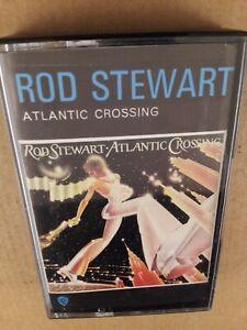 Rod Stewart : Atlantic Crossing : Vintage Cassette Tape Album From 1975