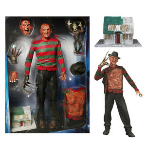 "NECA Nightmare on Elm Street Freddy Ultimate Dream Warriors 7/"" Action Figure New"