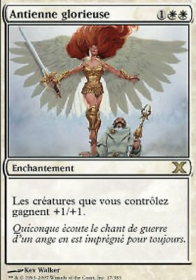Glorious Anthem MTG 10th edition *MRM* FR Antienne glorieuse
