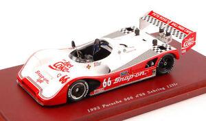 Porsche-966-66-12h-Sebring-1993-Diet-Coke-1-43-Model-TRUE-SCALE-MINIATURES