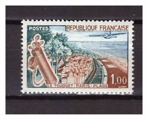 s24824-FRANCE-1962-MNH-Le-Touquet-Paris-Plage-1v