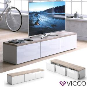Vicco  PANARAI TV Lowboard - Weiß