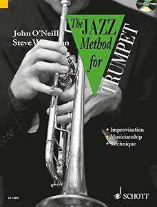 Jazz-Method-for-Trumpet-Tutor-Book-CD