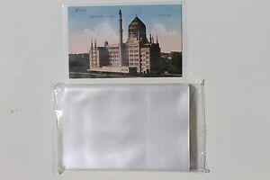 100-Ansichtskarten-Fotos-Postkarten-Huellen-fuer-alte-AK-NEU-KLARSICHTIG-96x148-mm