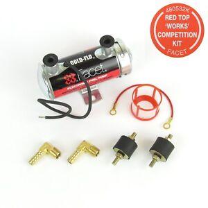 Kit-Facet-034-Red-Top-034-pompe-a-essence-electrique-12V