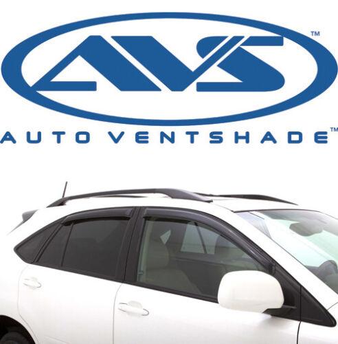 AVS 94924 Tape-On Window Shades Ventvisors 4-Piece Smoke 03-09 Toyota 4Runner