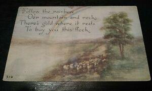 Vintage-F-A-Owen-Rainbow-Scene-Postcard-no-310-VTG-1913