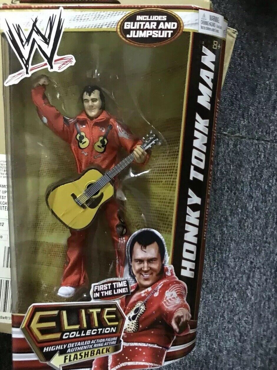 WWE Mattel Elite Honky Tonk Man New sealed