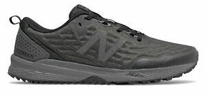 New-Balance-Men-039-s-NITREL-v3-Trail-Shoes-Black-with-Grey