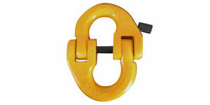 3-8-Painted-Yellow-A337-Grade-80-Connecting-Link-Chain-Fitting