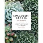 Succulent Garden Notecards 20 Different Cards and Envelopes by Szyszlo Edyto