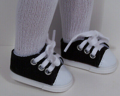 """Debs WHITE Princess Flats Doll Shoes For 14/"""" Am Girl Wellie Wisher Wishers"""