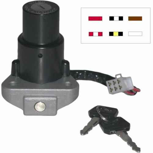 Ignition Switch for 1992 Kawasaki KLR 600 KL600B7