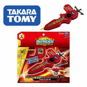 Takara-Tomy-Beyblade-Burst-B-94-Digital-Sword-Launcher-RED