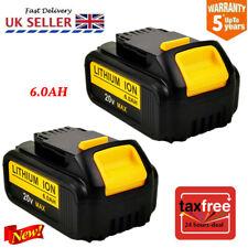 2x6.0Ah 18V Volt XR Li-ion Battery for Dewalt DCD785 DCB184 DCB182 DCF885 DCB203