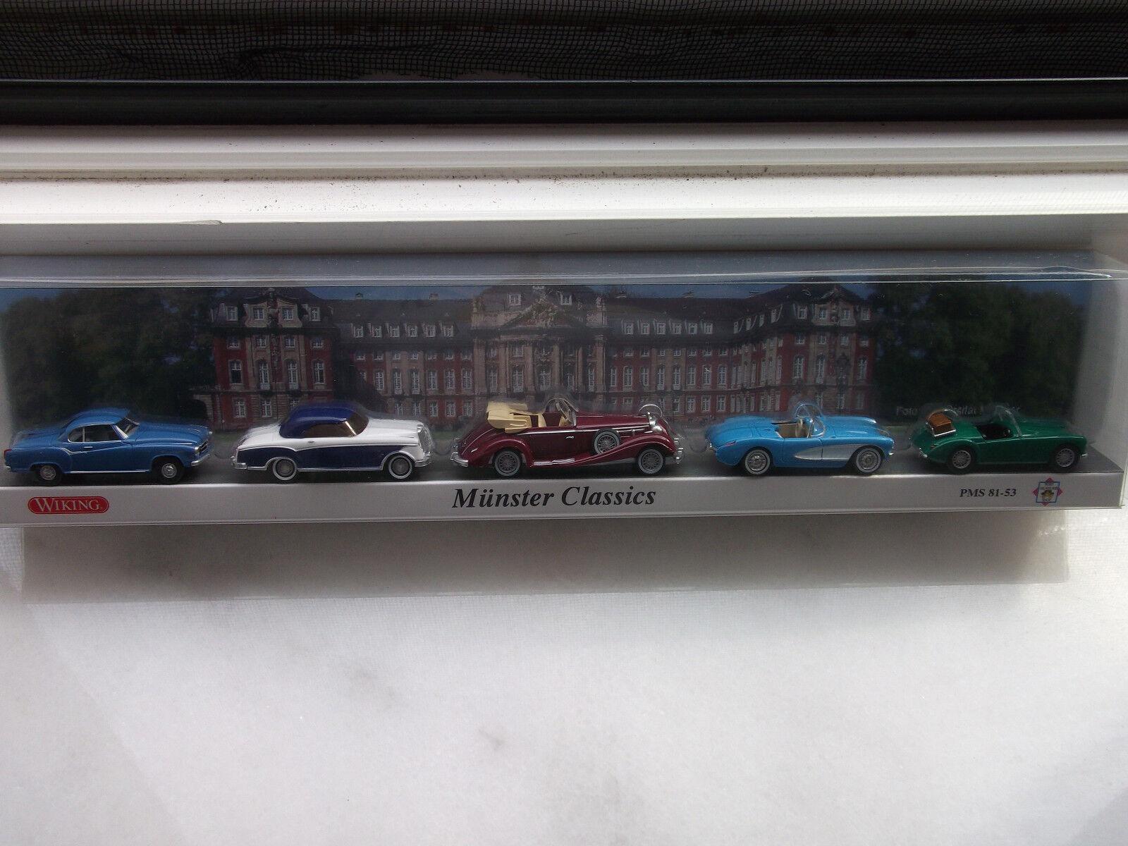 Wiking Post Museums Shop Set   Münster Classics    Art.Nr. 81-53 mit OVP 1 87    Won hoch geschätzt und weithin vertraut im in- und Ausland vertraut
