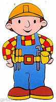 10 Bob The Builder Character Wall Sticker Glossy Border Cut Out