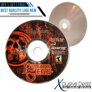 Disc-2-ONLY-Dungeon-Siege-2001-PC-RPG-Video-Game-Nearly-New-31-XDEALZ