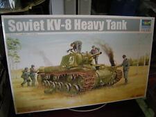 1:35 Trumpeter Soviet KV-8 Heavy Tank OVP