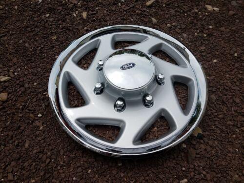 Pair of 2 95 96 97 98 99 00 01 F250 F350 Econoline Hubcaps Wheel Covers 923