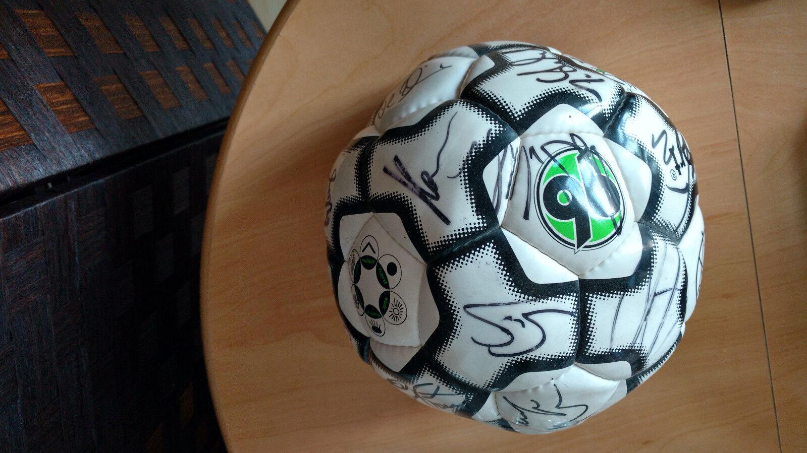 Hannover 96 Bundesliga original Autogramme Team signiert uhlesport Fußball 2004