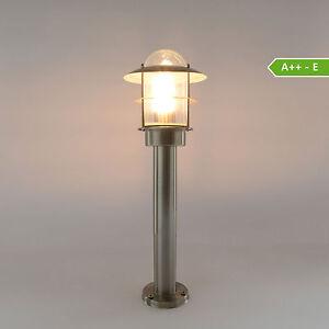 au enleuchte standleuchte wandleuchte edelstahl gartenlampe wegeleuchte 251 500 ebay. Black Bedroom Furniture Sets. Home Design Ideas