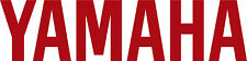 """#472 (2) 4"""" Yamaha Logo Motorcycle Drum Snowmobile decal sticker Gloss Red"""