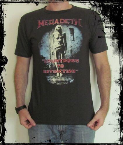 **Megadeth T-Shirt** Unisex Retro Rock Vest Tank Top **Sizes S M L XL**
