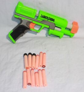 Image is loading NERF-GUN-DART-TAG-GREEN-DNT-Q-4-
