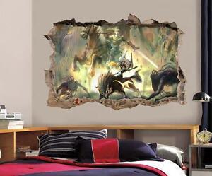 Link legend of zelda smashed wall decal graphic wall for Home landscape design suite 8 0 link