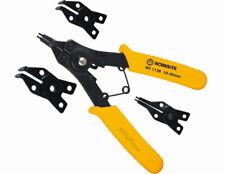 4 in 1 Snap Ring Pliers Combination Retaining Clip Circlip Plier Remover Set hec