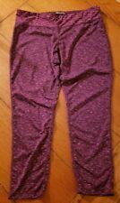 Ideology Women/'s Purple Butterfly Moisture Wicking Mesh Capri Leggings XS-XL NWT