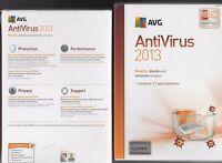Brand Avg Antivirus 2013 1 Pc 1 Year