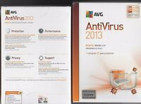Brand Avg Antivirus 2013 1 Pc 1 Year