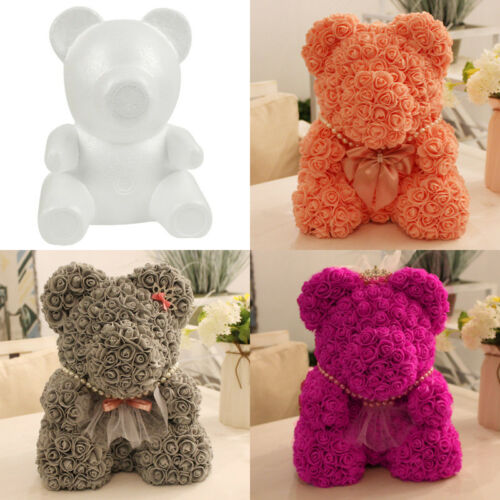 UK Polystyrene Styrofoam Foam Bear Dog Rabbit Modelling DIY Gifts Valentine New