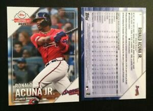 Details About 2019 Topps National Baseball Card Day Promo Ronald Acuna Jr Braves 3