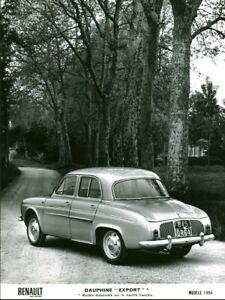 Photo De Presse Ancienne Renault Voiture Automobile Dauphine Export 1964 Ebay
