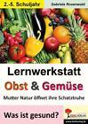Lernwerkstatt Obst & Gemüse von Gabriela Rosenwald (2015, Taschenbuch)