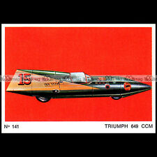 #amp72.141 ★ STREAMLINER TRIUMPH RECORD BILL JOHNSON ★ Americana Moto Parade 72