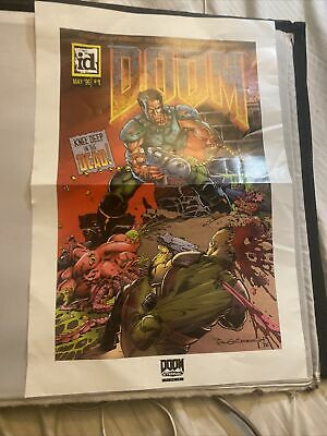 DOOM Eternal Comic Cover With Misprint Date *RARE*