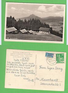 AK Ofterschwang Allg. Jugenderholungsstätte Sonneckhütten gel. 27.8.51 Sonthofen