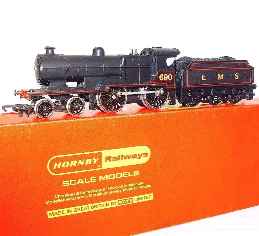 Tri-ang Hornby OO británico LMS Negro 2P 4-4-0 Locomotora De Vapor & Tender NMIB' 76