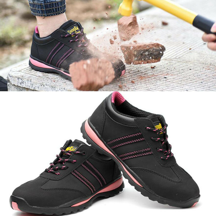 Womens Waterproof Steel Toe Cap Safety Work Hiking shoes Ankle Sneakers Boots
