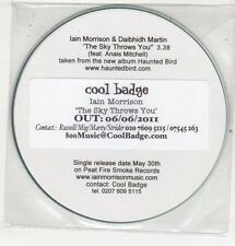 (ET610) Iain Morrison & Daibhidh Martin, The Sky Throws You - 2011 DJ CD