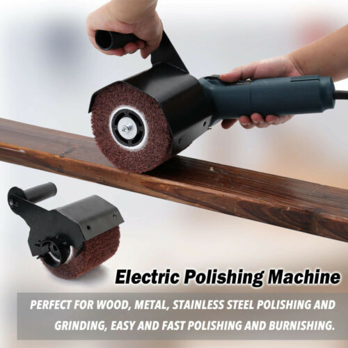 Electric Polishing Machine Angle Grinder Burnishing Attachment Accessories Metal