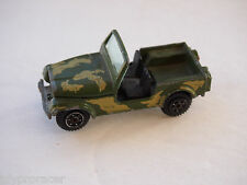 YAT MING US ARMY Diecast Jeep Toy #1608 YATMING MADE IN HONG KONG