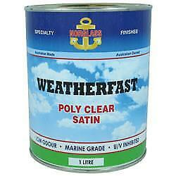 Norglass Weatherfast Poly Clear Marine Care Paint Painting