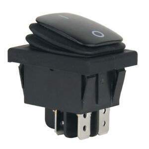 12V-20A-Car-Auto-Boat-Round-Rocker-ON-OFF-TOGGLE-SPST-SWITCH-Waterproof